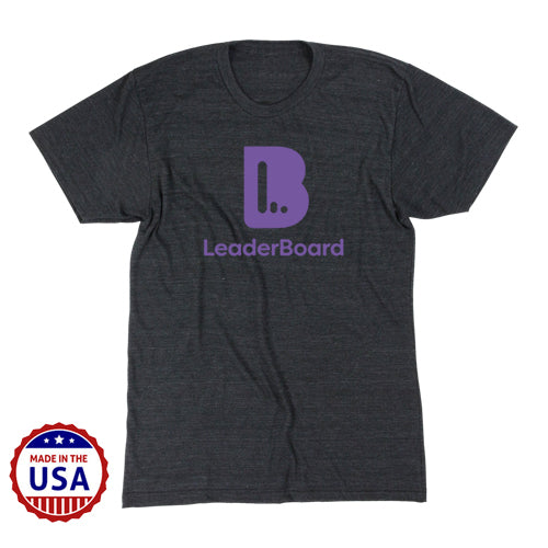 LeaderBoard USA Made Men's Tri-Blend Tee Pre-Order