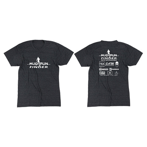 Mud Run Finder MudGear Unisex Tri-Blend Tee Pre-Order