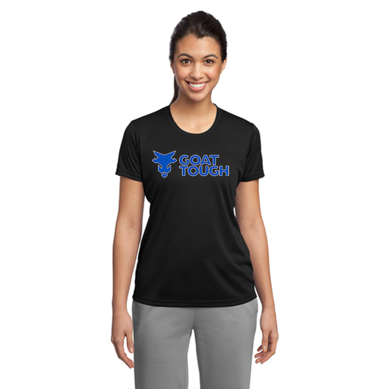 Goat Tough Sport Tek Ladies Performance Tee Pre-Order