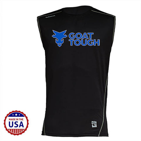 Goat Tough MudGear Fitted Race Jersey v3 Sleeveless Tee Pre-Order