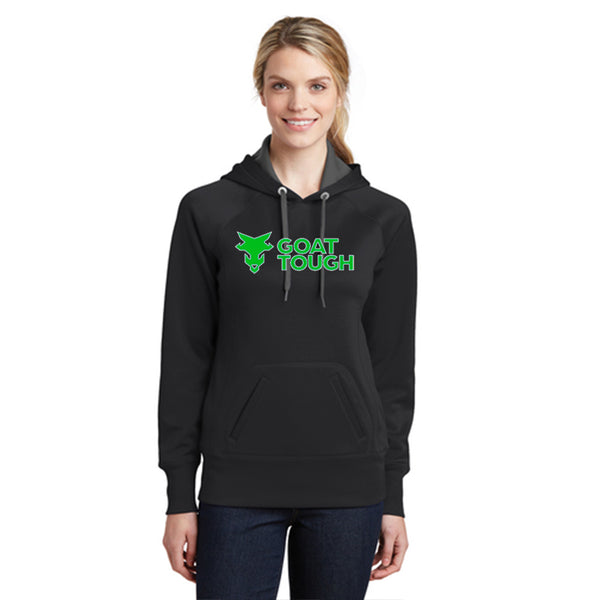 Goat Tough Sport-Tek Ladies Tech Fleece Hooded Sweatshirt Pre-Order