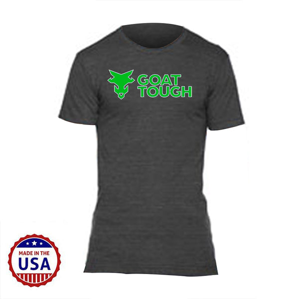 Goat Tough MudGear Men's Tri-Blend Tee Pre-Order