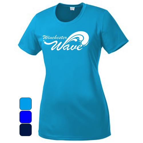 Winchester Wave - Women's Sport-Tek Competitor Tee Pre-Order