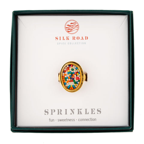 Sprinkle Ring Rainbow Colors