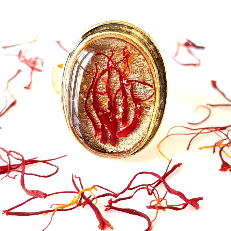 Saffron | Ring (Adjustable)