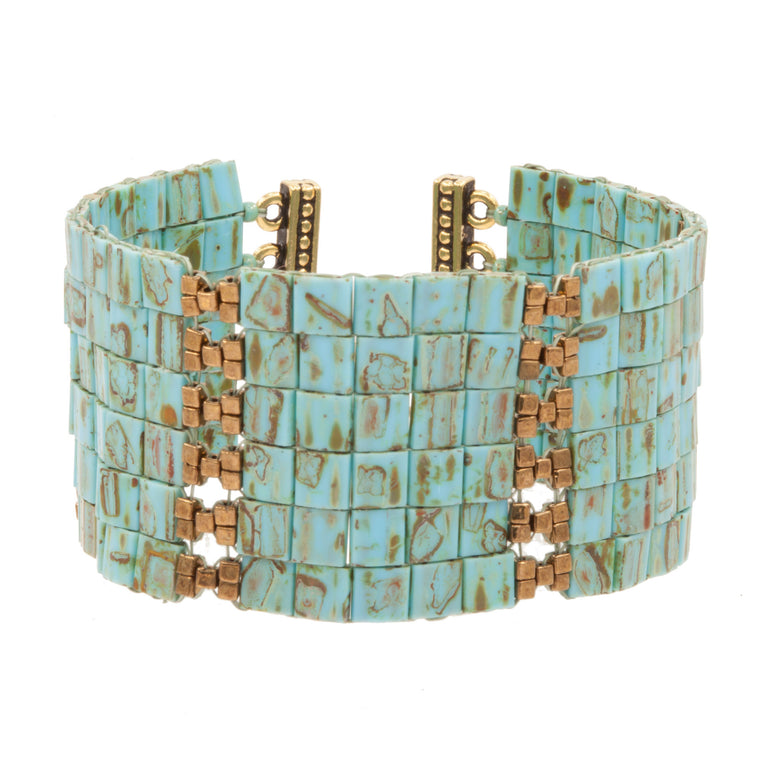 HATHOR CROSS HATCH | CUFF | ADJUSTABLE
