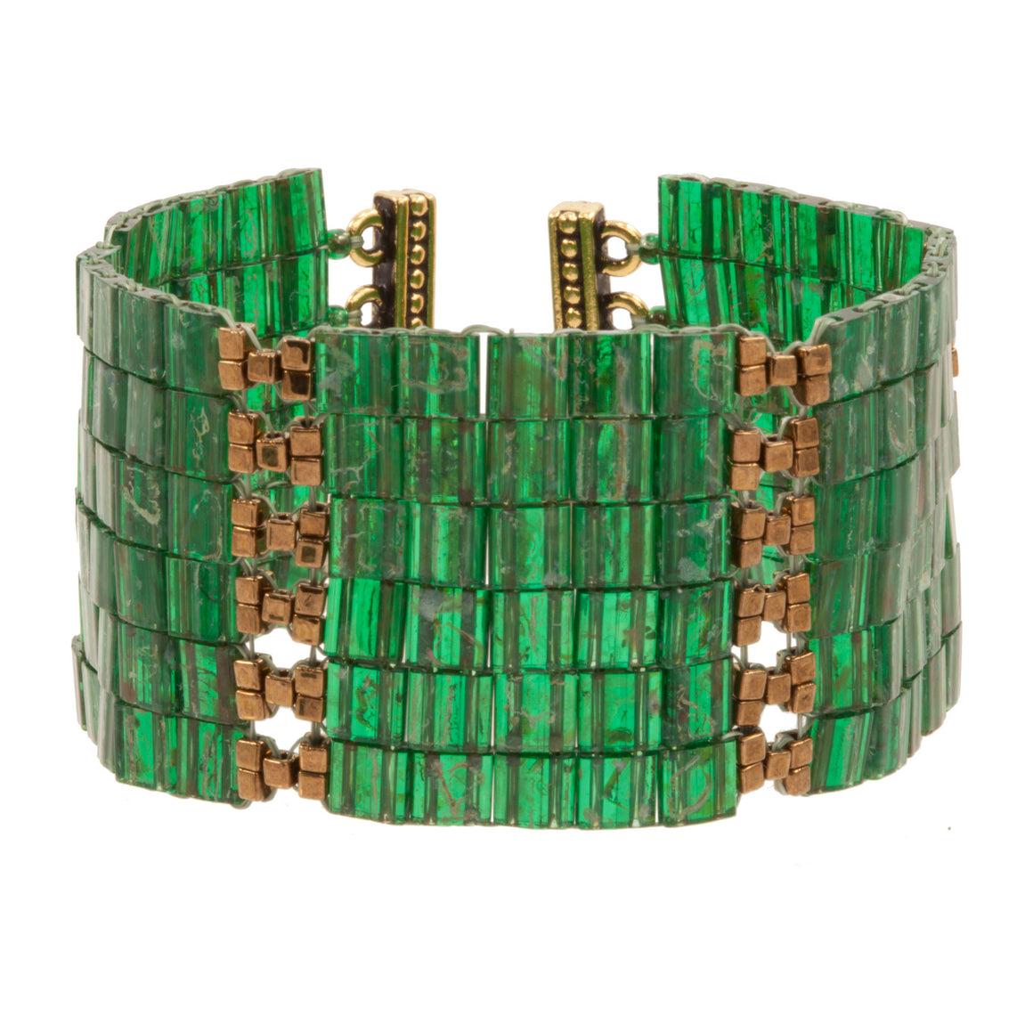 CLEOPATRA CROSS HATCH | CUFF | ADJUSTABLE