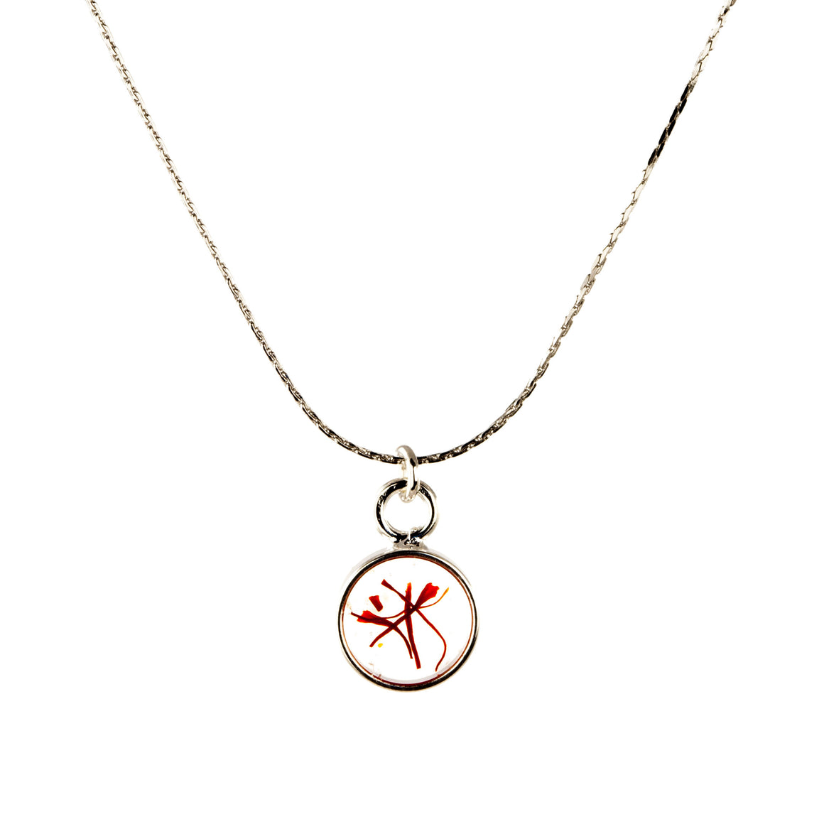 Saffron | Small Circle Necklace