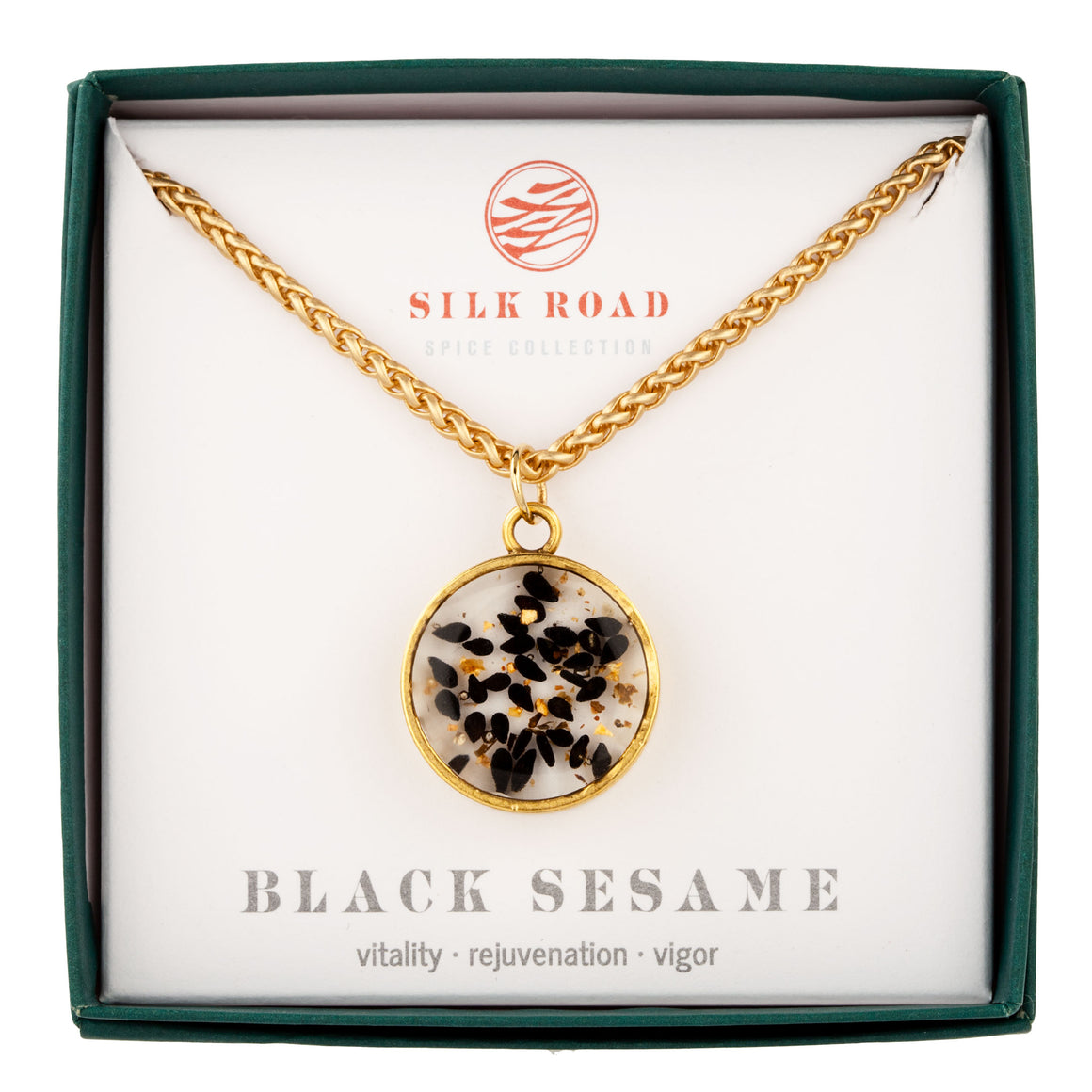 Black Sesame | Monocle Necklace