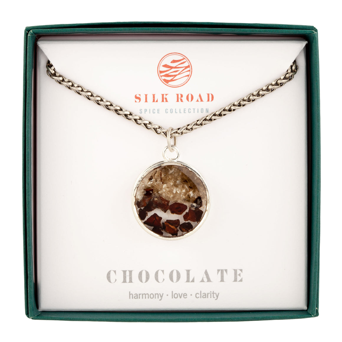 Chocolate | Monocle Necklace