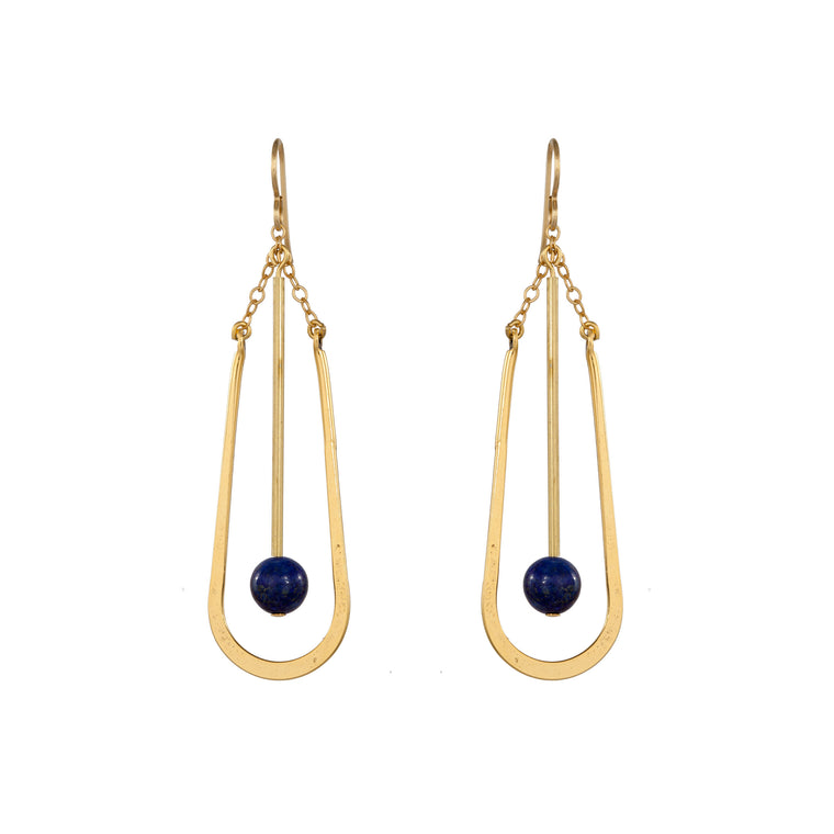 OVAL DROP | EARRINGS