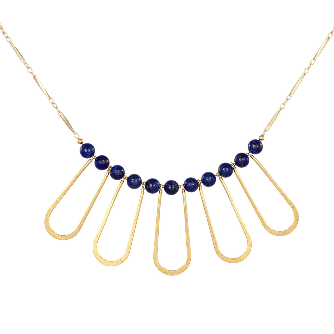 OVAL DROP NECKLACE