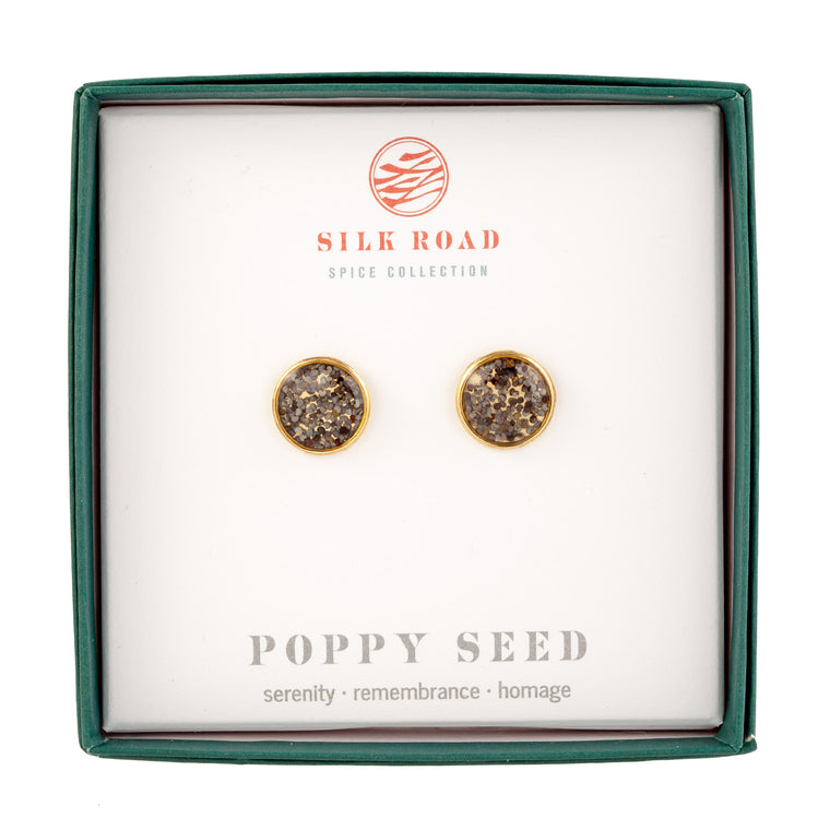 Poppy Seeds | Stud Earrings