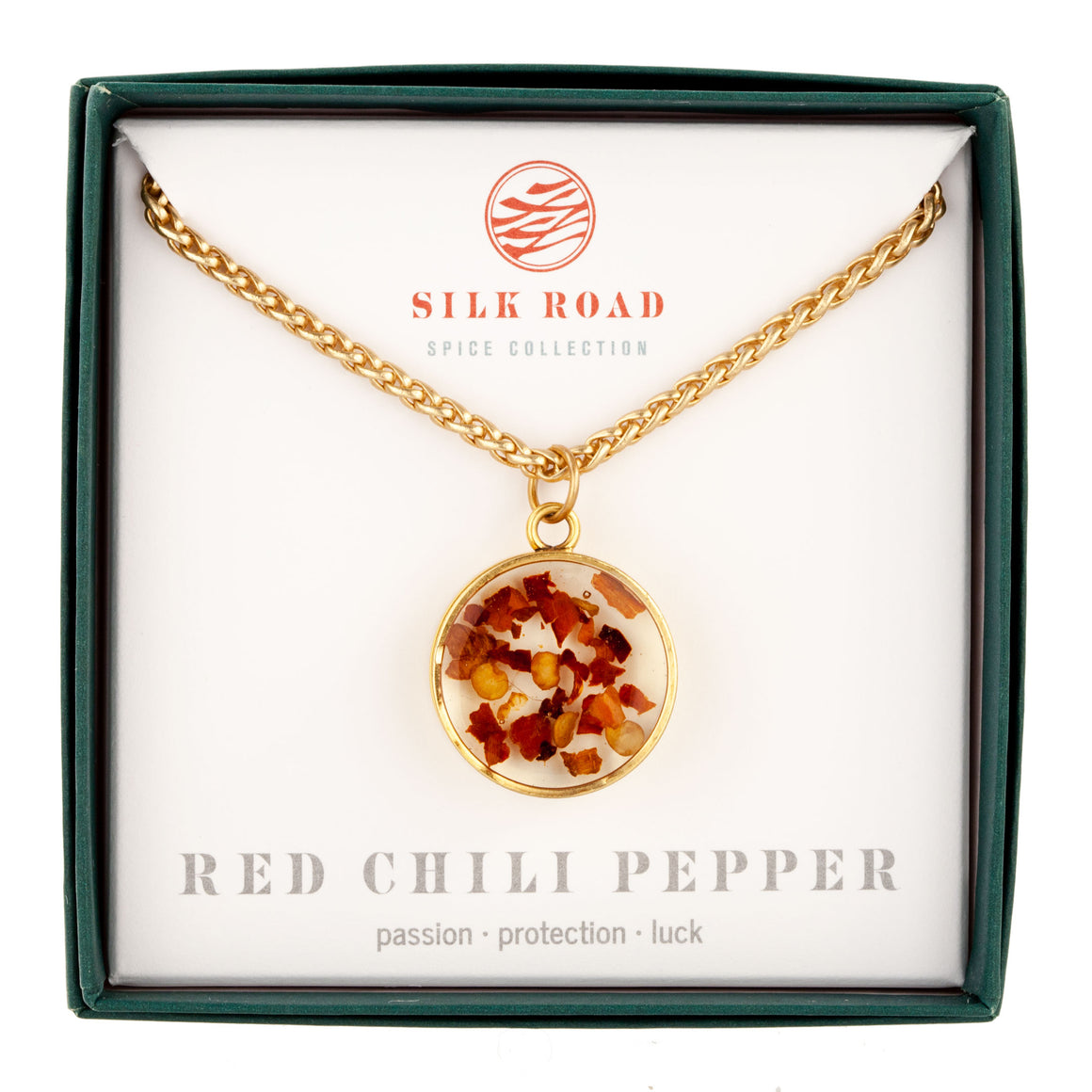 Red Chili Pepper | Monocle Necklace