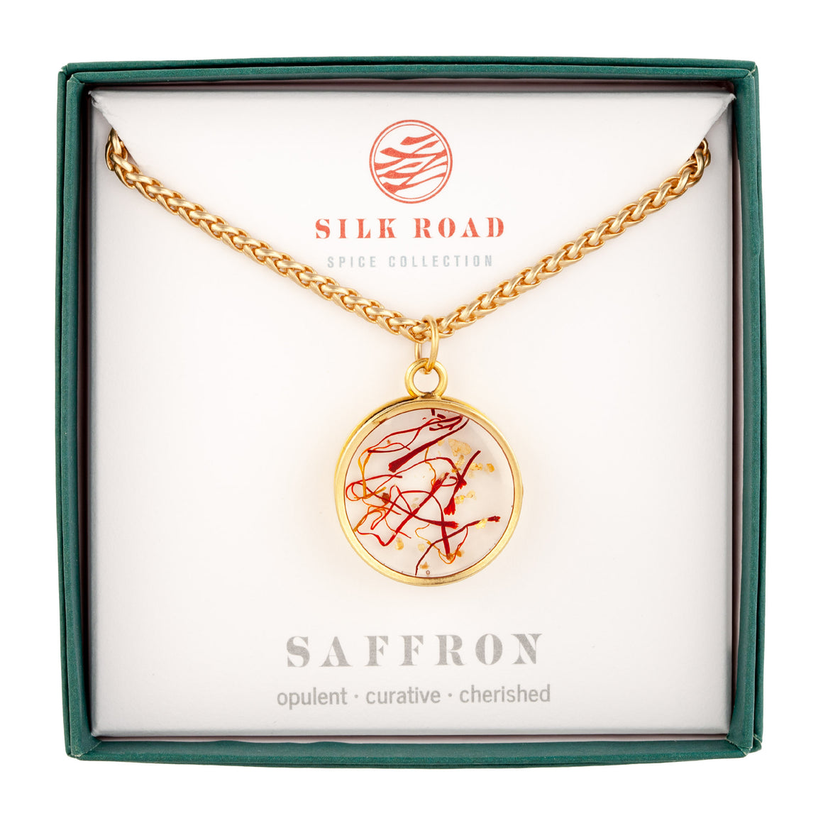 Saffron | Monocle Necklace