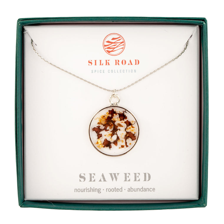 Seaweed | Simple Circle Necklace