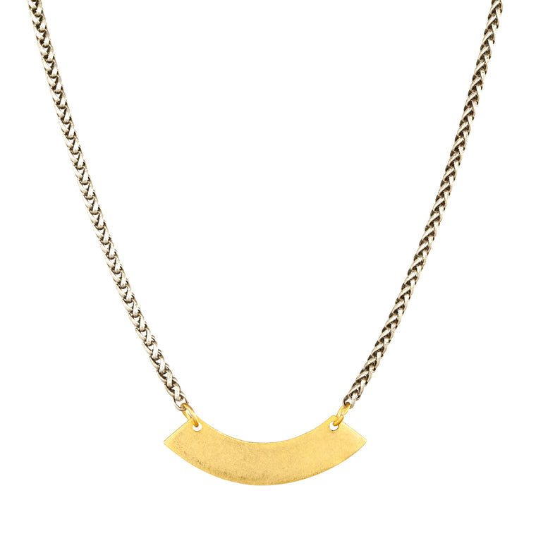 Single Curve Necklace