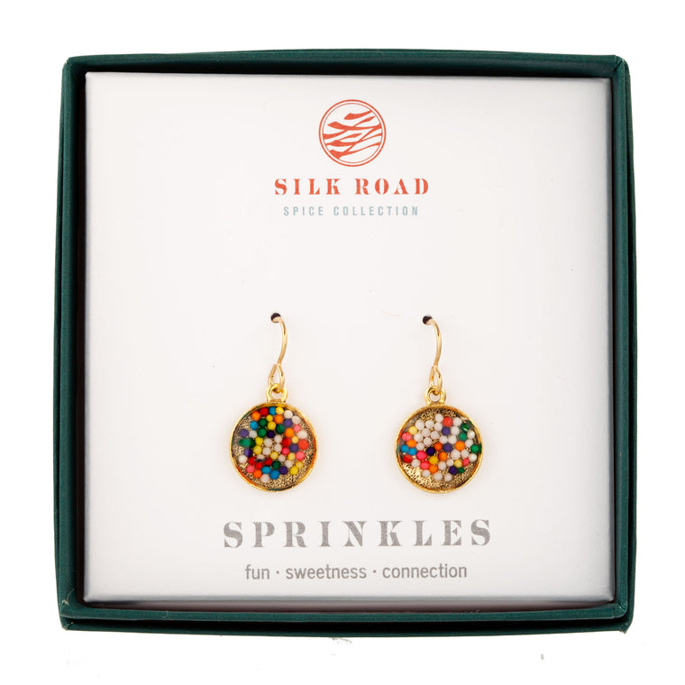Sprinkles | Small Round Earrings