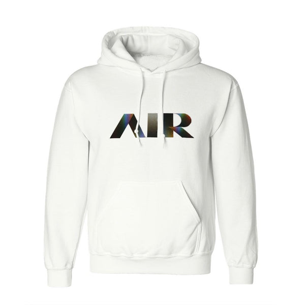 AIR LOGO WHITE HOODY