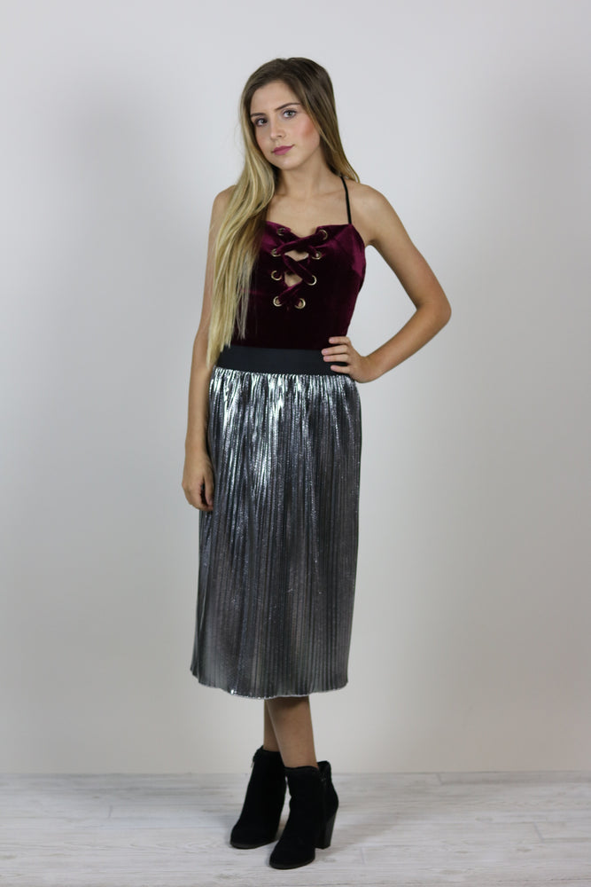 Shimmer Holiday Skirt
