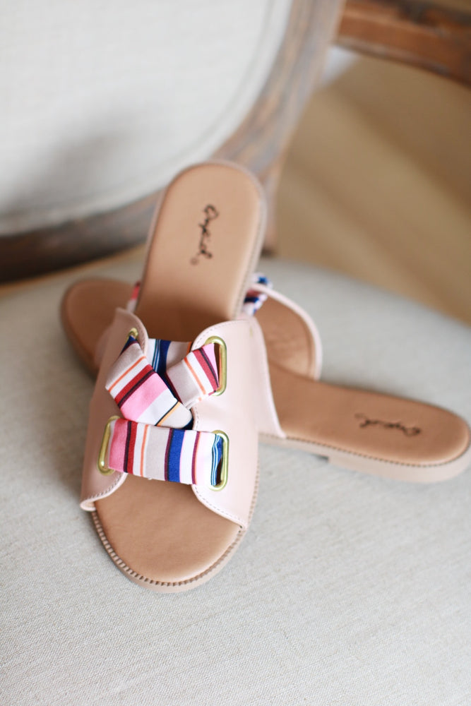Blush Stripes Sandal