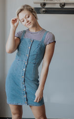 Sweet On You Denim Dress