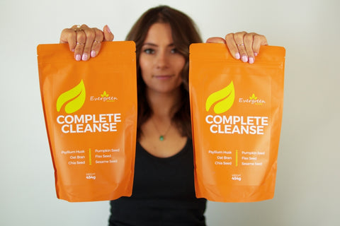 complete cleanse colon cleanse psyllium husk oat bran flax seed sesame seed chia seed pumpkin seed