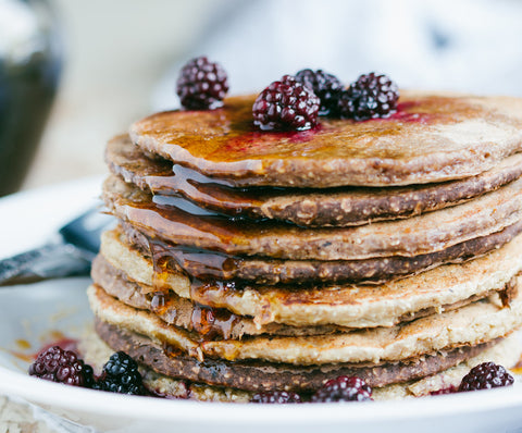 oat pancakes - complete cleanse - colon cleanse
