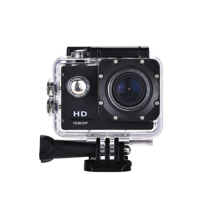 "2.0"" HD Action Camera 1080P 30FPS 12MP - Black / Silver / Pink / Blue"