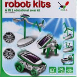 Educational Toys: 6 in 1 Solar DIY Kit