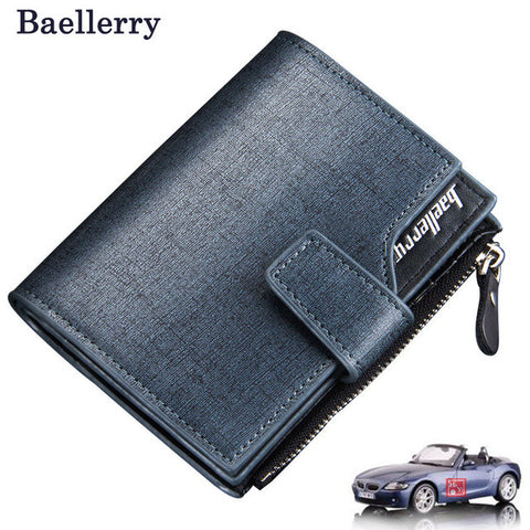 Men's Casual Wallet - Classic Blue