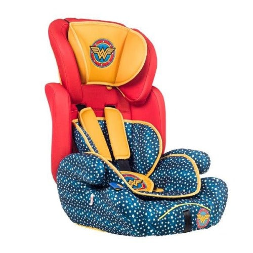 Baby Car Seat - Wonder Woman - Red and Blue