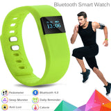 Bluetooth Bracelet Sport Smart Watch - Black