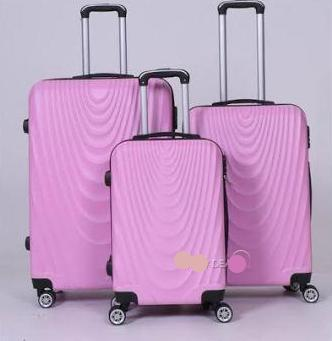 3pc Luggage set - Pink