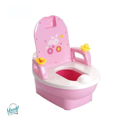 Children's Froggy Potty Trainer - Pink