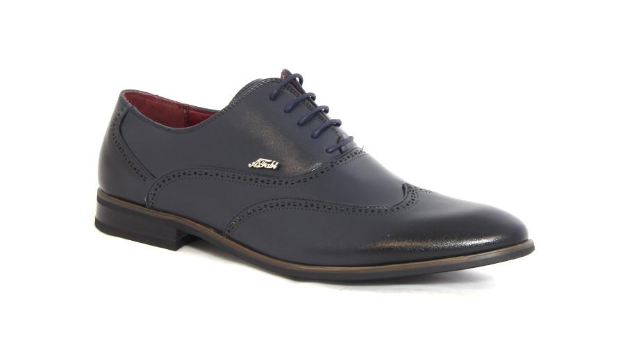 Men's Shoes - Anton Fabi Lace Up Formals - Navy