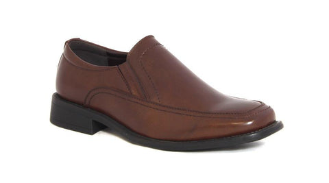 Men's Shoes - Formal Slip-Ons - Brown