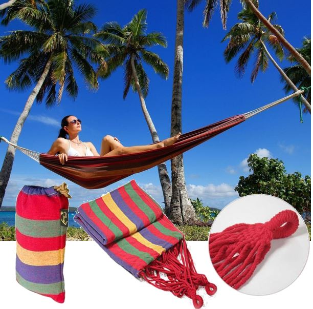 Portable Travel Hammock