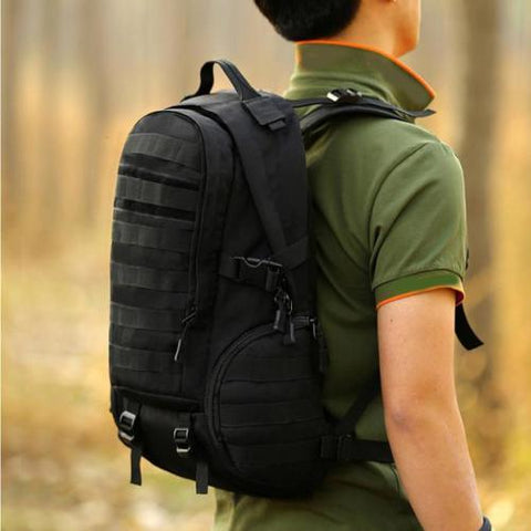 35L Hiking Backpack - Black