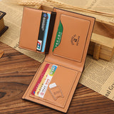 Men's Wallet - Bifold Plade Credit Card holder
