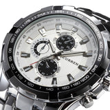 Stainless Steel Business Casual Men's Watches - 10 Styles