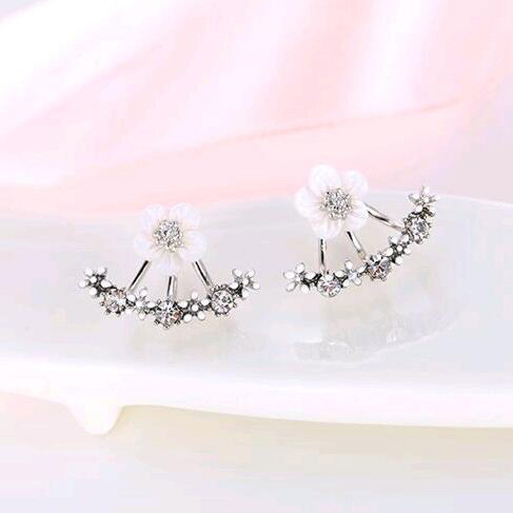 Daisy Flower Jacket Earring