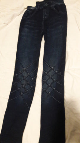 Ladies Jegging Free Size Criss Cross