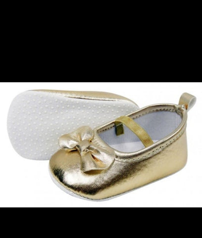 Infants Girls Shoes - Gold