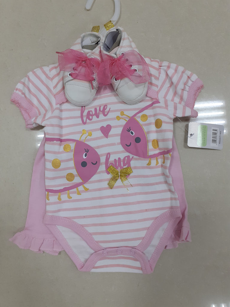 GIRL'S 3PC SETS 'LOVE BUG'