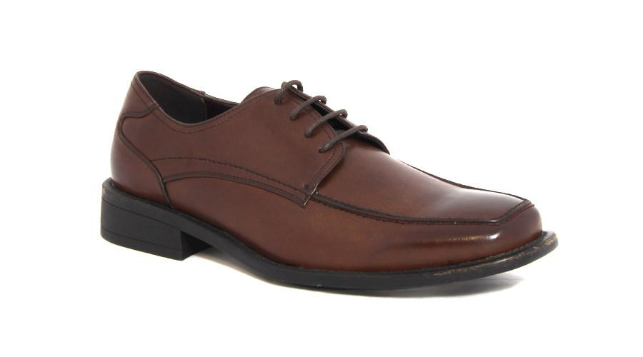 Men's Shoes - Lace Up Formal - Brown