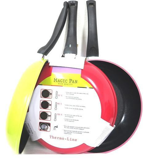 Changing Color 24 cm Magic Therm Line Fry Pan (Designed in Brasil) - 1 piece