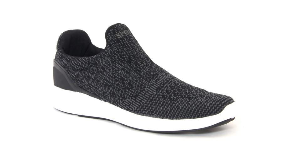Booz Active Slip On's - Black