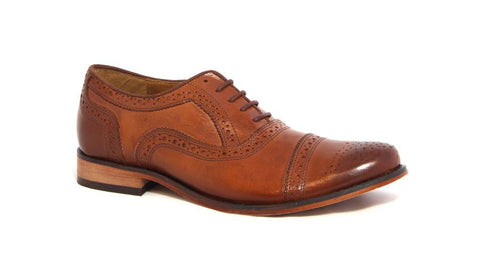Men's Shoes - John Drake Lace Up Formals - Brown