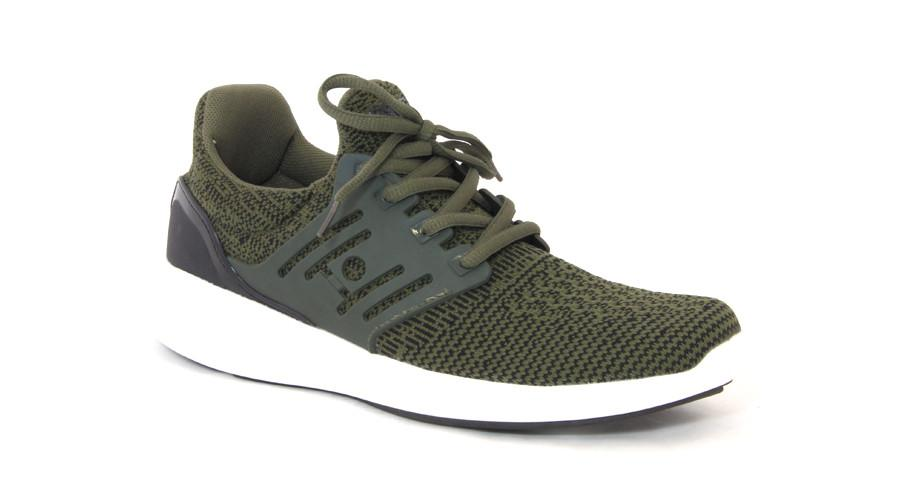 Booz Active Lace-Up's - Khaki/Green